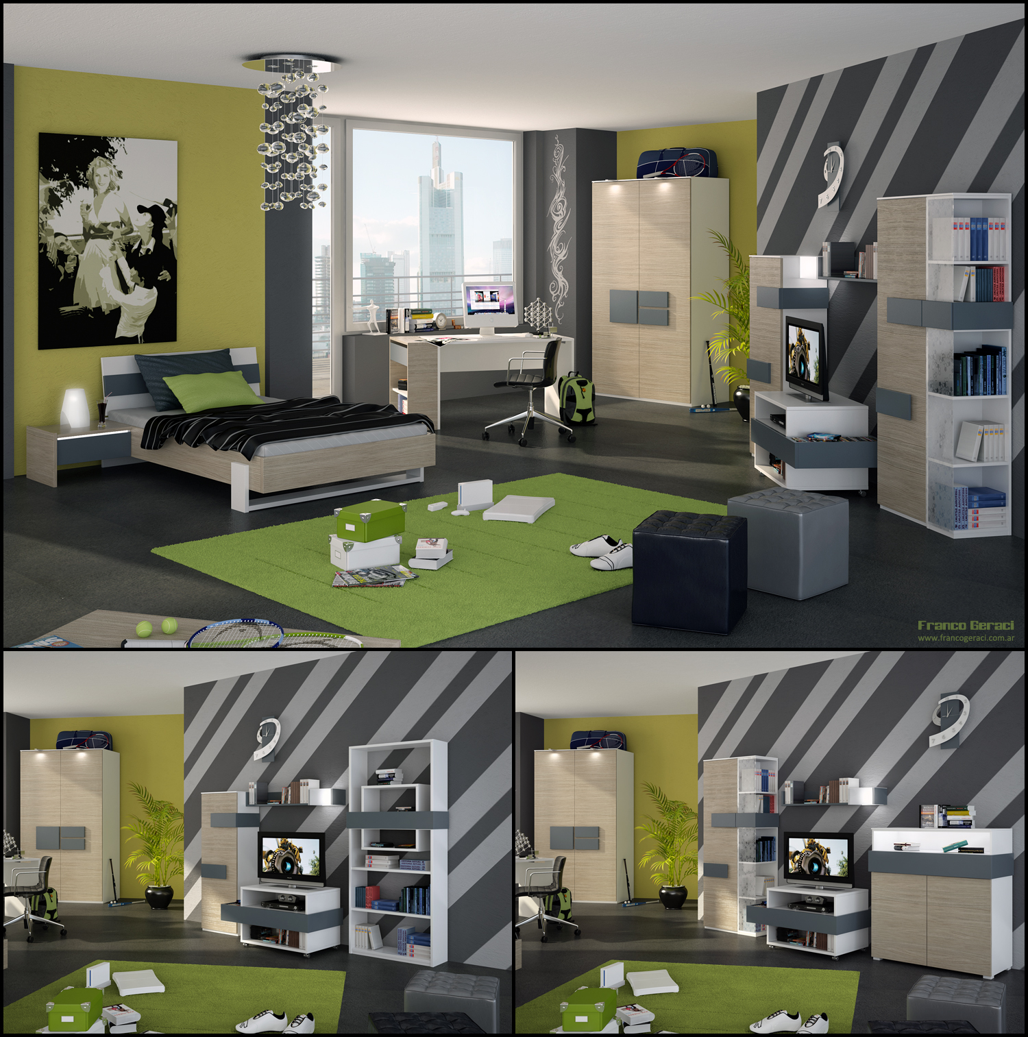 Boys Room Ideas Teenage Room Designs