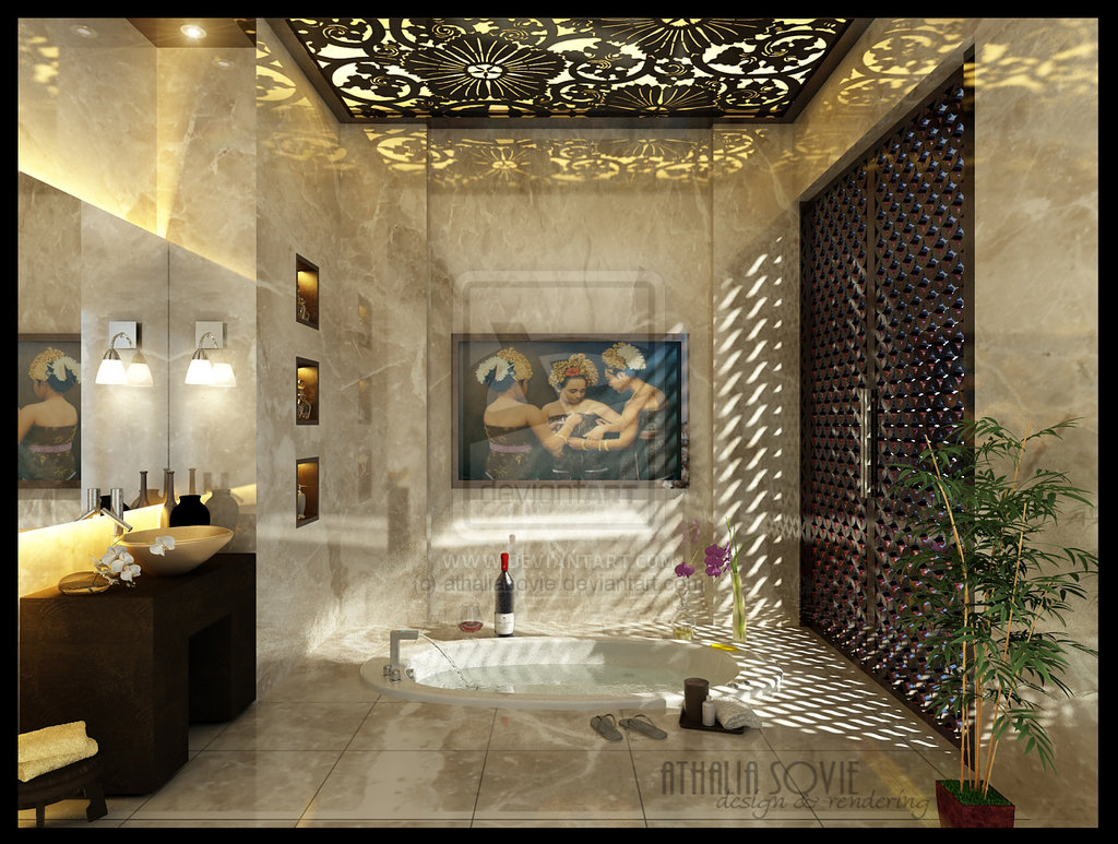 Luxury Ceiling Design 16 Designer Bathrooms For Inspiration