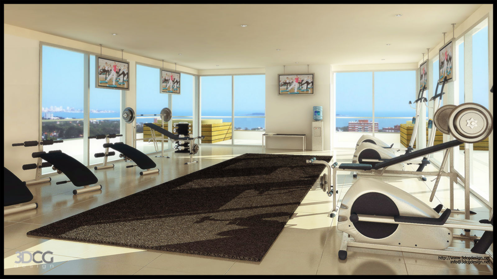 home gym design tips pictures cool house designs ventilated fresh plans freshnist