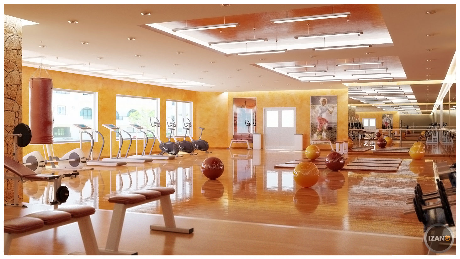 Decor Center Home Gym Design Tips And Pictures