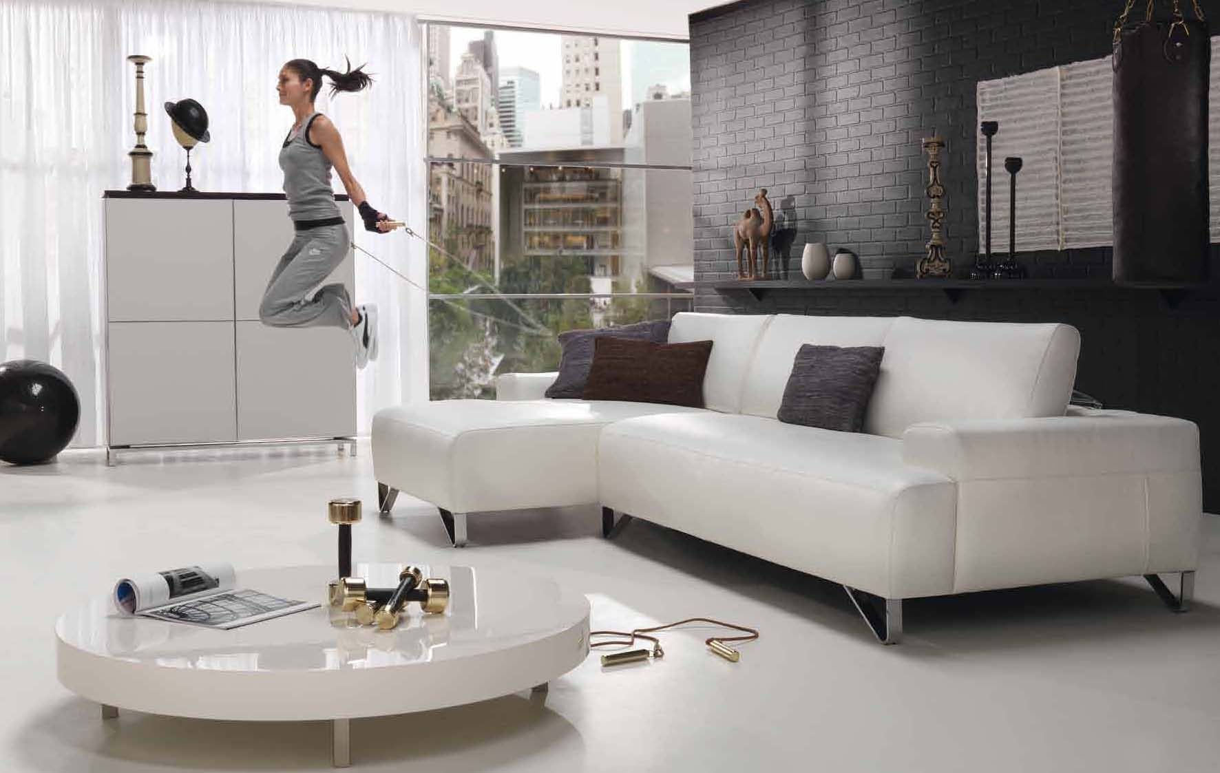 Black And White Furniture Living Room Living Room Styles 2010 By Natuzzi