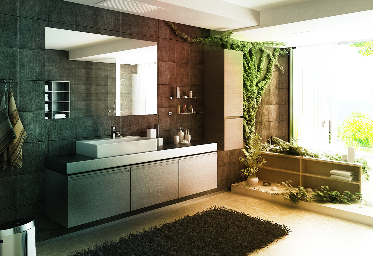 Zen Decor Ideas 11 Wildly Artistic Bathrooms