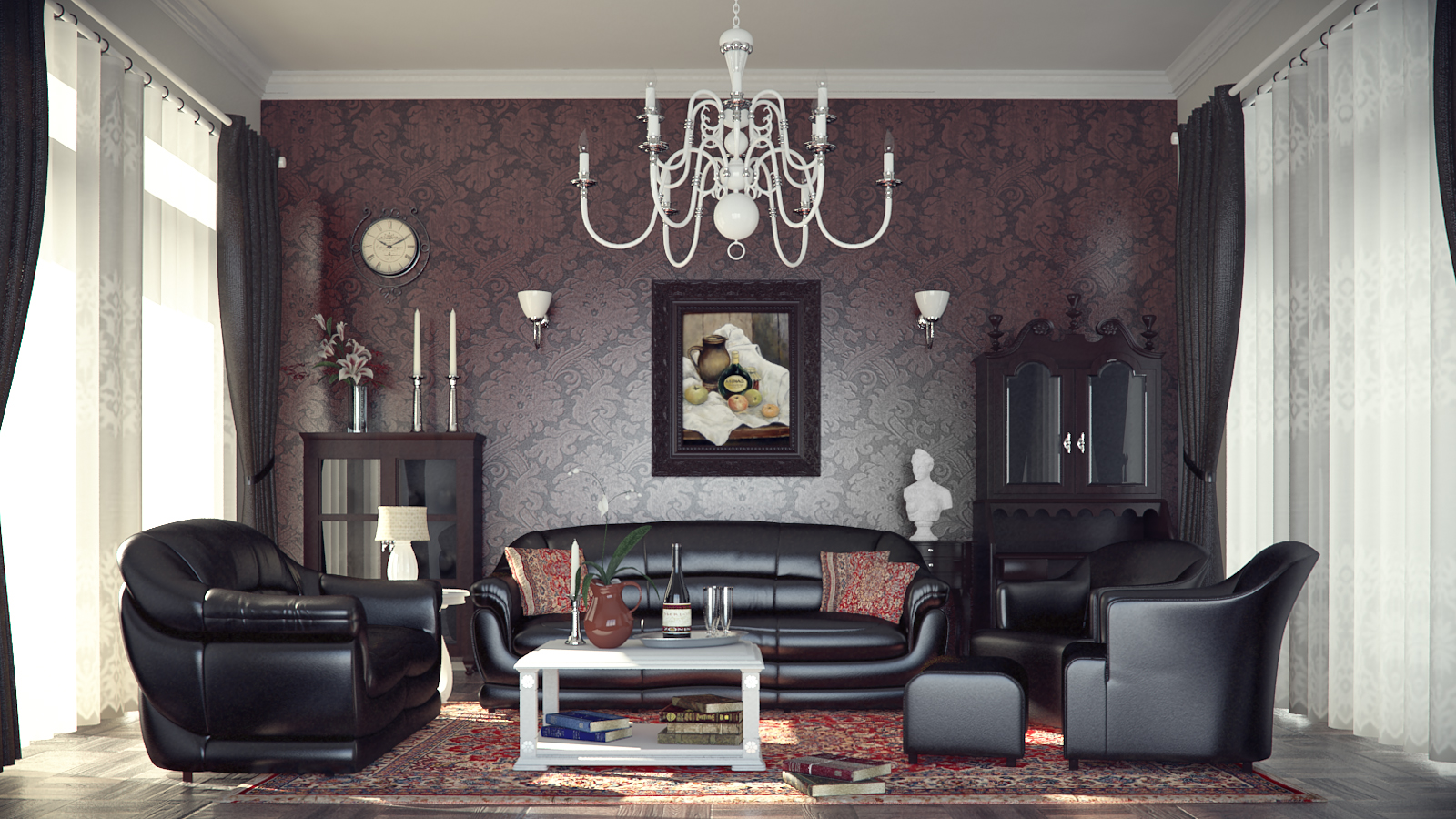 Wohnzimmer Gestalten Farbe Classic And Retro Style Living Rooms