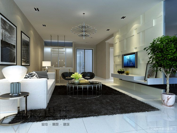 Modern Living Rooms from the Far East - living room rugs modern