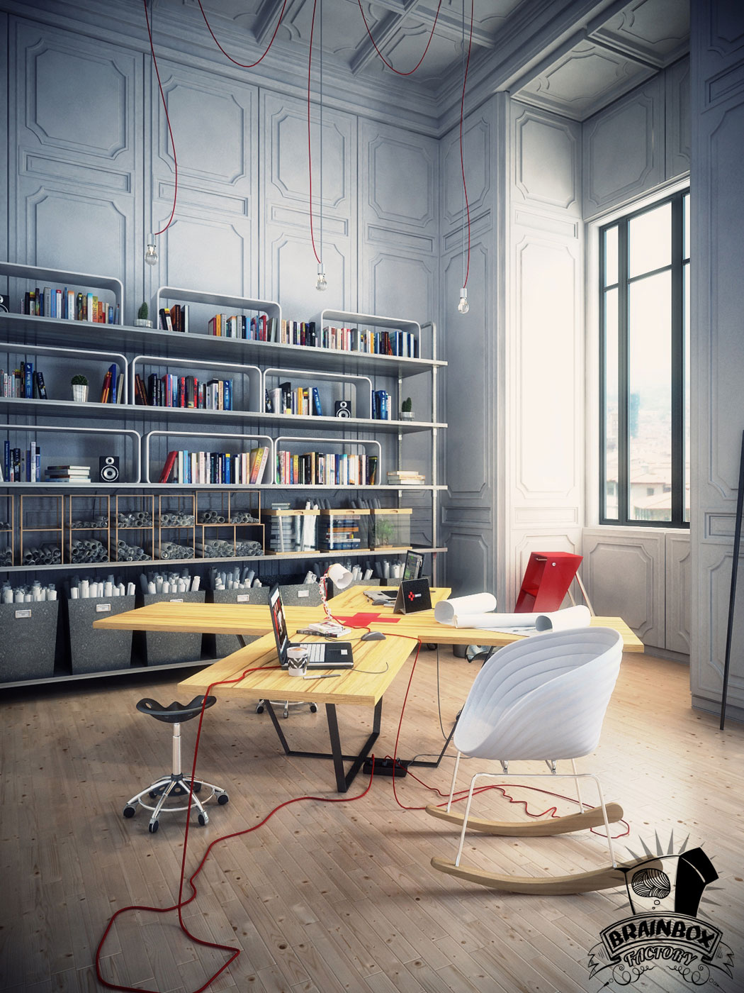 Office inspiration 12 jared erickson for Awesome office spaces