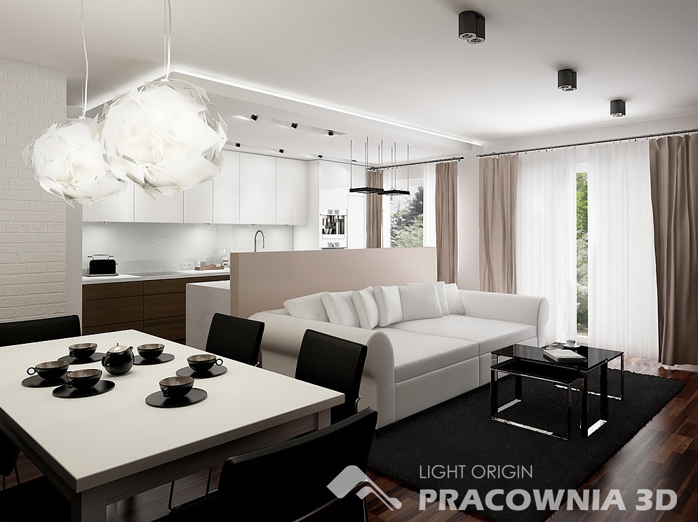 3d Appartement Cute And Groovy Small Space Apartment Designs