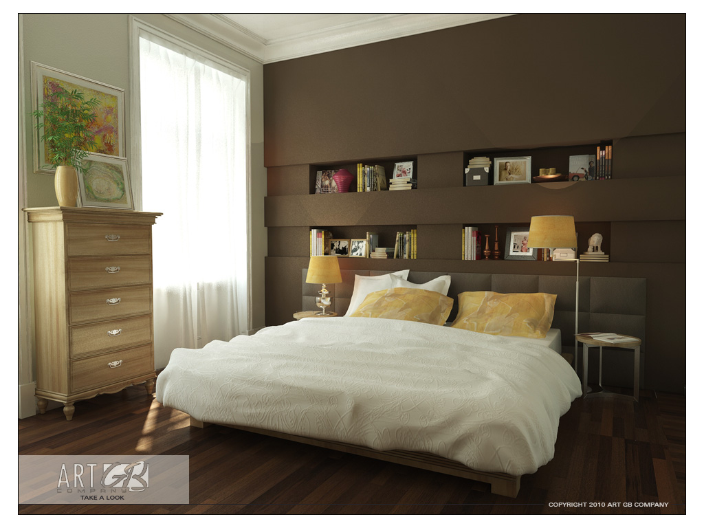 Interior Bedroom Color Modern Colorful Bedrooms