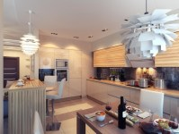 Kitchen with Ambient Lighting | Interior Design Ideas.