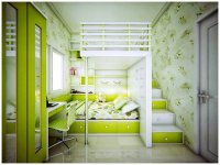 Lime-Green Room   Interior Design Ideas.