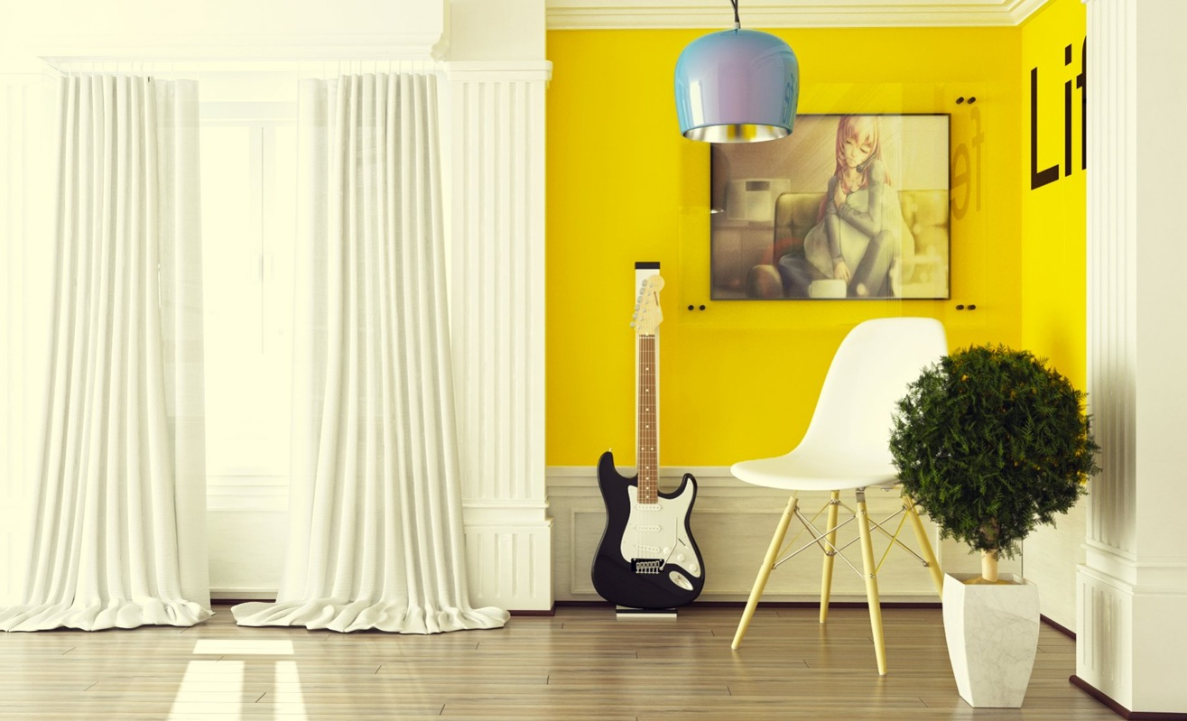 Yellow Accents Home Decor Yellow Room Interior Inspiration 55 43 Rooms For Your