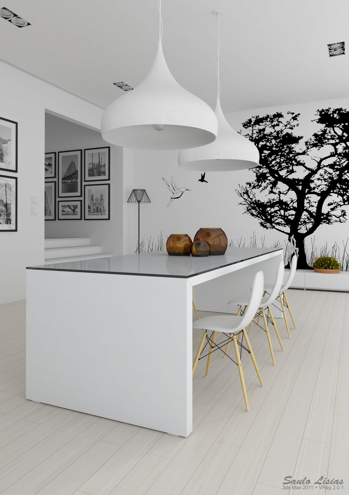 Black And White Art Ideas Black And White Interiors