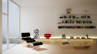 Rendered Minimalist Spaces by Rafael Reis