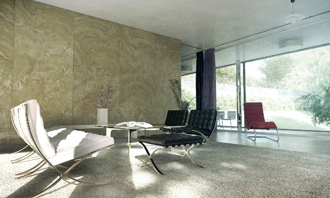 3d Wallpaper Designs For Bedrooms Sitting Room Marble Wall Interior Design Ideas