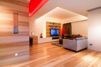wood living room | Interior Design Ideas.