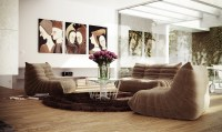 Low level seating living room | Interior Design Ideas.