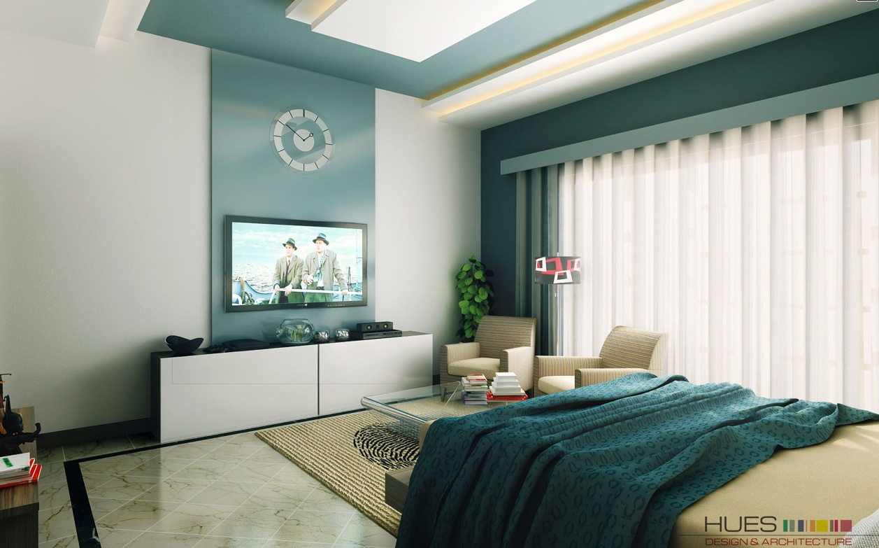 Modern Bedroom Walls White Aqua Blue Modern Bedroom Interior Design Ideas