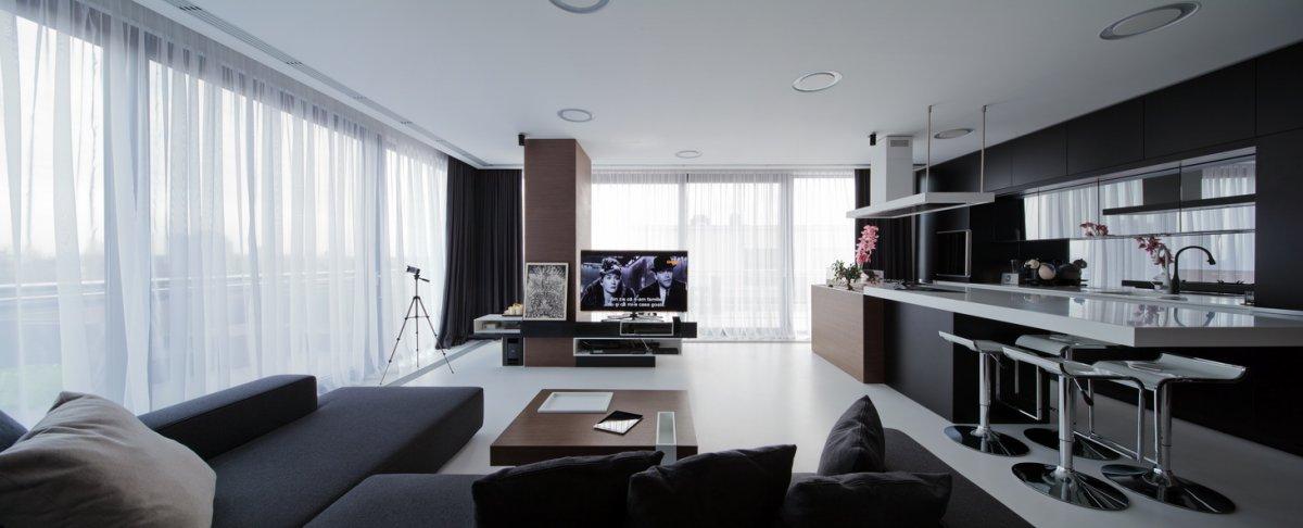 ravishing romanian interior square small open plan kitchen living room design ideas
