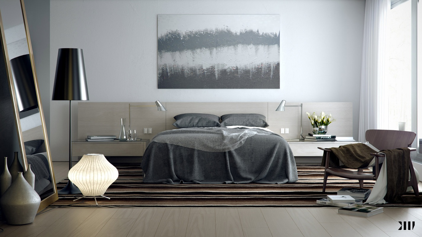 Grey Color Bedroom Smart And Sassy Bedrooms