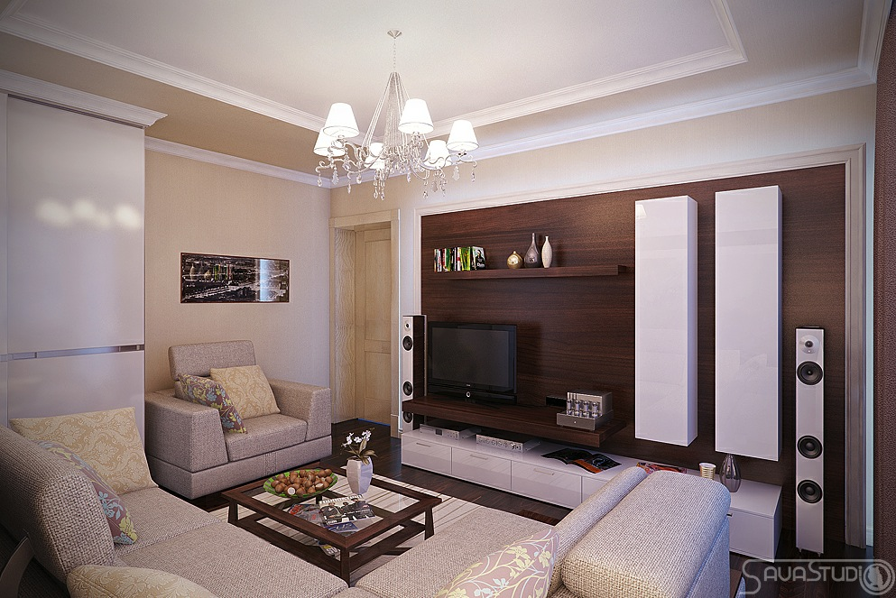 Wohnzimmer Ideen Creme Cream Living Room Colored Accents | Interior Design Ideas.