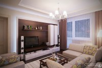 Living room design L shaped sofa