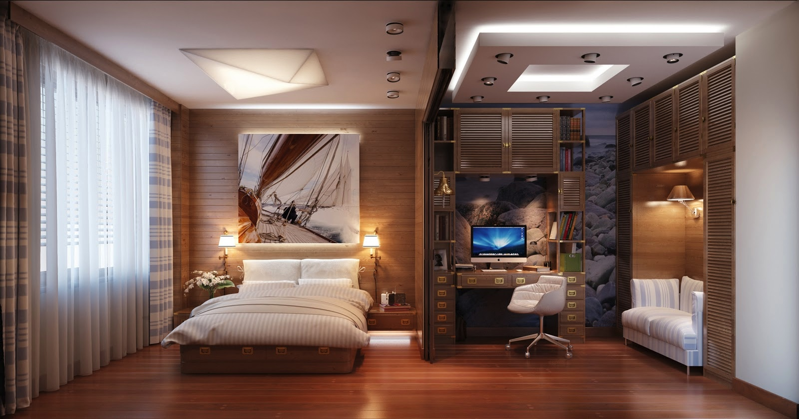 Home Office Room Designs Travel Themed Bedroom For Seasoned Explorers