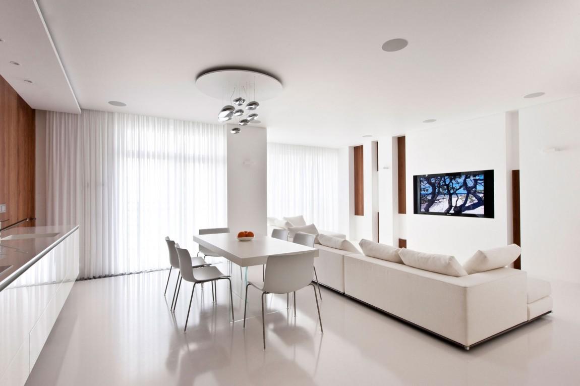 white kitchen diner lounge interior design ideas house white interiors