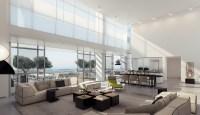 4 Retractable glass doors living room | Interior Design Ideas.