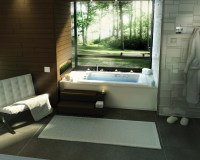 Built in bathtub | Interior Design Ideas.