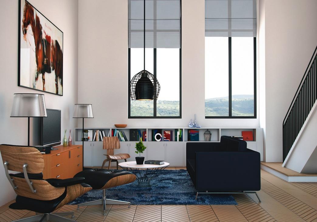 Modern Living Rooms - free living room furniture