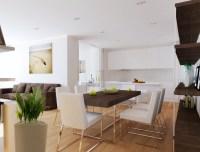 Open plan living room diner kitchen | Interior Design Ideas.