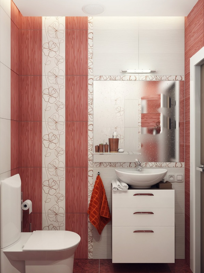 Azulejos Baño Moderno Small Bathroom Design