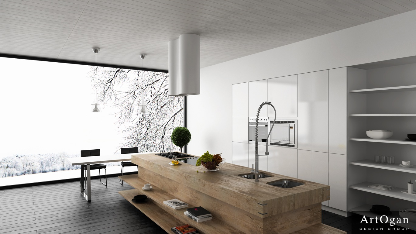 Images Of Modern Kitchens With Islands Unexpected Twists For Modern Kitchens