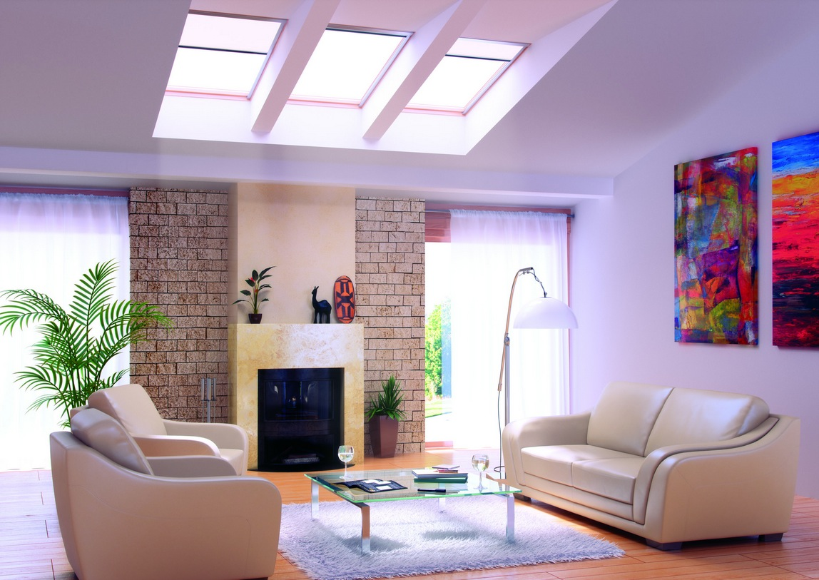 Home Living Room Ideas Living Rooms With Skylights