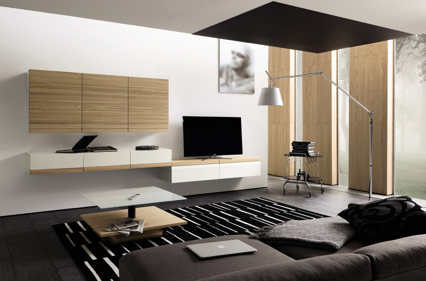 Meuble Tv Fer Forgé Wooden Finish Wall Unit Combinations From Hülsta