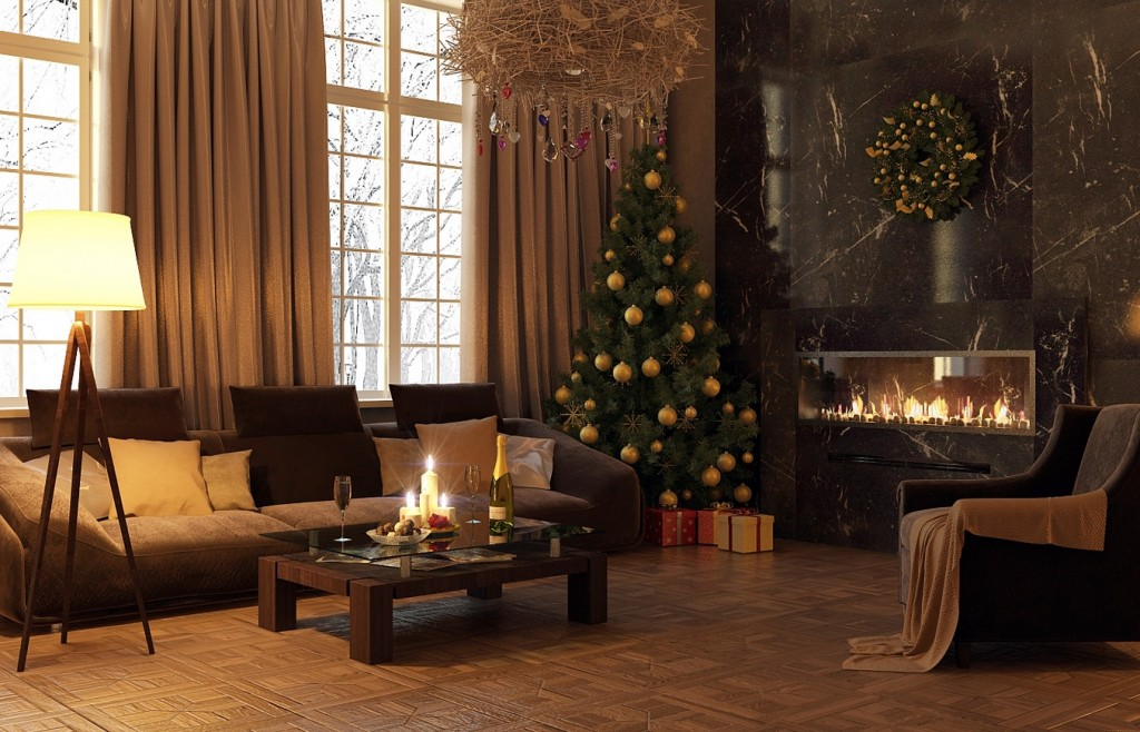 Indoor Decor Ways to make your home festive during the holidays - contemporary christmas decorations