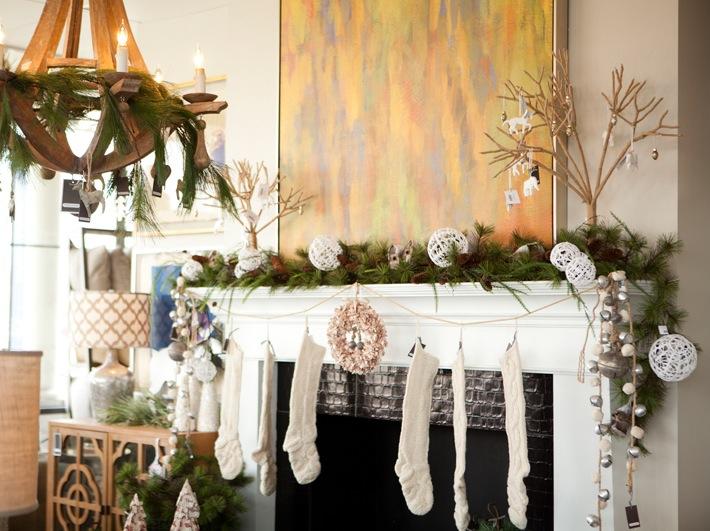 natural christmas mantel decor Interior Design Ideas - christmas mantel decor