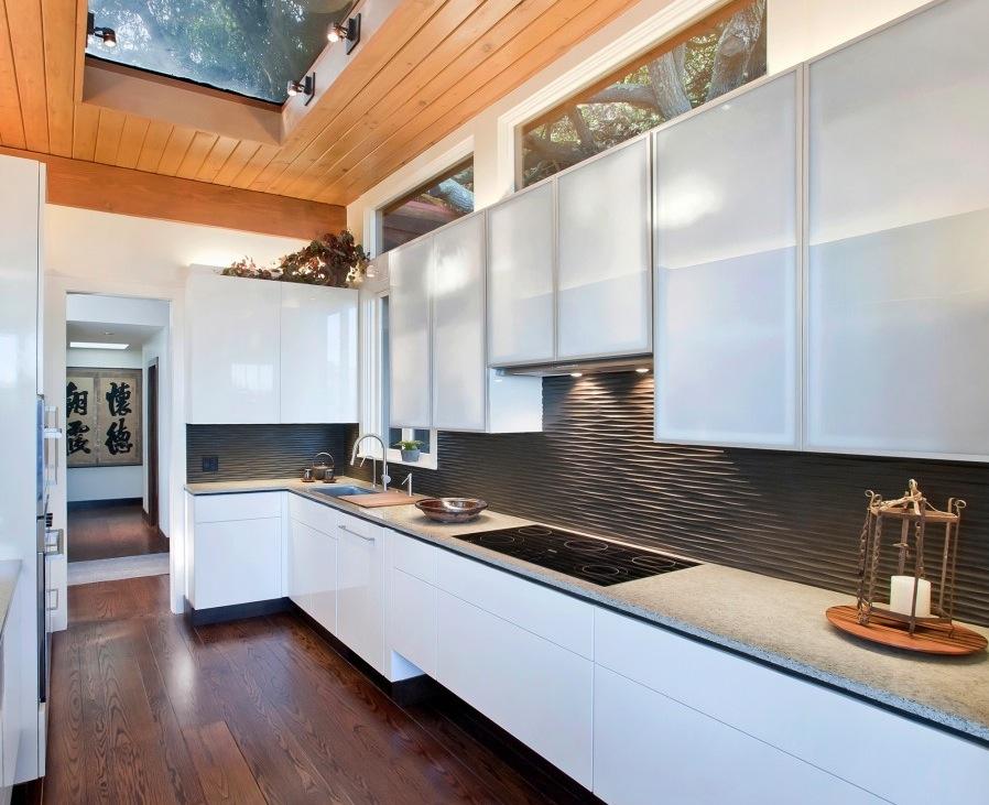kitchen backsplash ideas black glass tiles kitchen backsplashes couchable