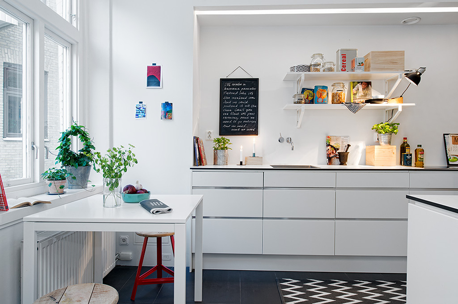 small table stools create space eat linger kitchen small eat kitchen transitional home design photos
