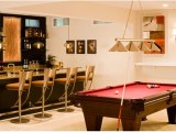 Basement Game Room Bar Design Ideas