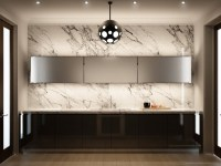 marble kitchen wall | Interior Design Ideas.
