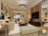 chinese beige living room | Interior Design Ideas.