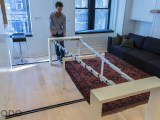 An Expandable Table For 10, Turning The Space Into Yet Another Room