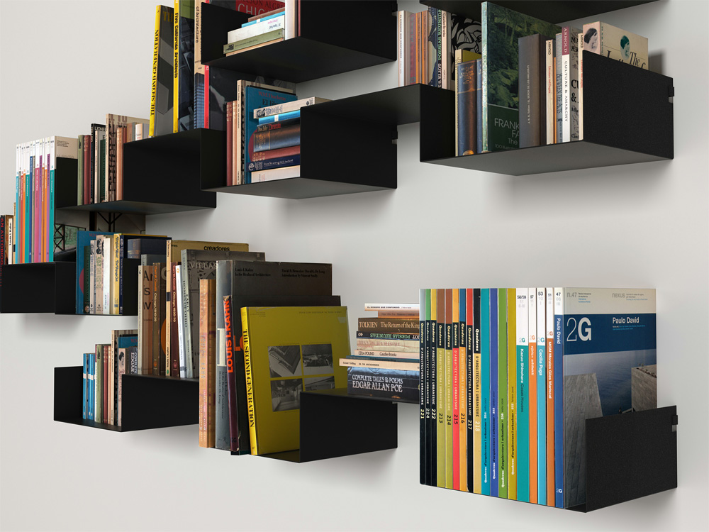 Book Shelfs 20 Creative Bookshelves: Modern And Modular