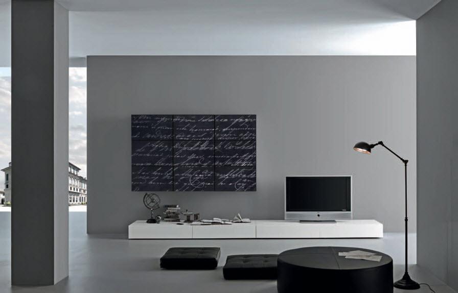 The Art of Hanging Art - artwork for living room