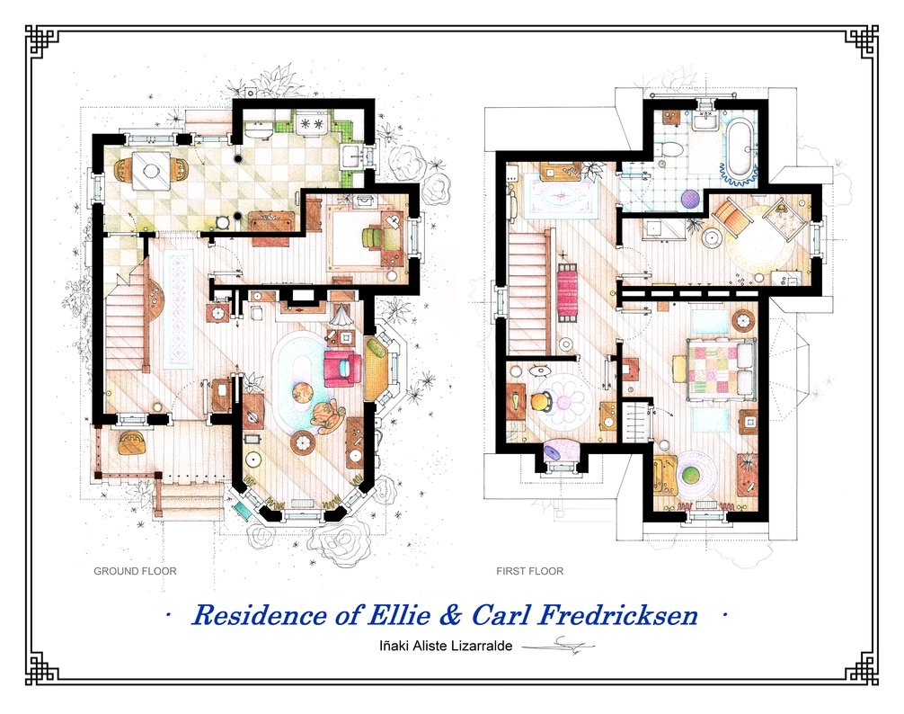 Home Design Floor Plan Floor Plans Of Homes From Famous Tv Shows