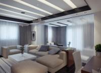 contemporary apartment living room 2