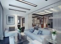 contemporary apartment living room | Interior Design Ideas.
