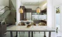contemporary dining room | Interior Design Ideas.