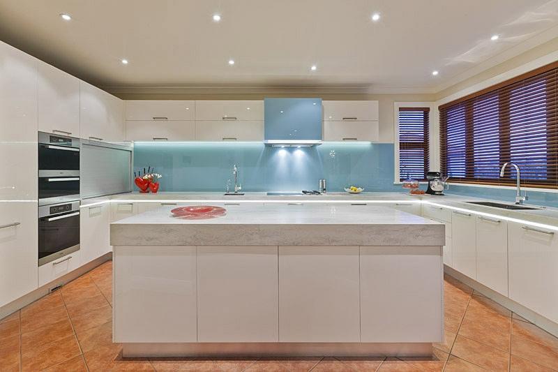17 Light-Filled Modern Kitchens by Mal Corboy - modern kitchen lighting ideas