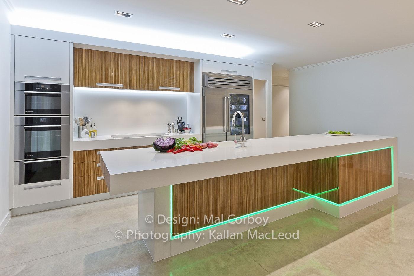 17 light filled modern kitchens by mal corboy kitchen led lighting